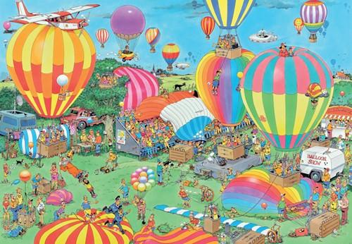 Jan van Haasteren - Het Ballon Festival Puzzel (1000 stukjes)-2