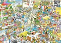 Jan van Haasteren - De Vakantiebeurs Puzzel (1000 stukjes)-2