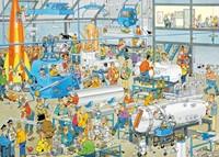 Jan van Haasteren - Technische Hoogstandjes Puzzel (1000 stukjes)-2