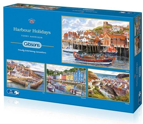 Harbour Holidays Puzzel (4 x 500 stukjes)
