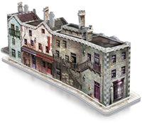 Wrebbit 3D Puzzel - Harry Potter Diagon Alley (450 stukjes)-2