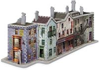 Wrebbit 3D Puzzel - Harry Potter Diagon Alley (450 stukjes)-3