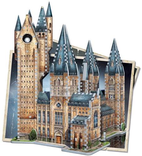 Wrebbit 3D Puzzel - H. Potter Hogwarts Astronomy Tower (875 stukjes)-2