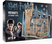 Wrebbit 3D Puzzel - H. Potter Hogwarts Astronomy Tower (875 stukjes)-1