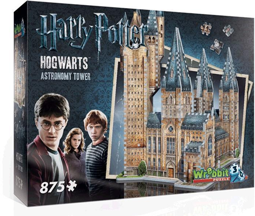 Wrebbit 3D Puzzel - Harry Potter Hogwarts Astronomy Tower (875 stukjes)