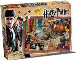 Harry Potter Hogwarts Puzzel (1000 stukjes)