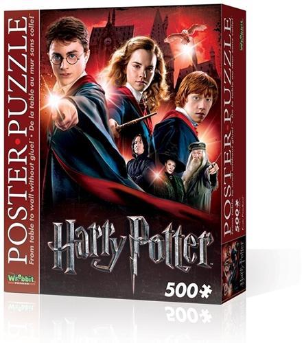 Wrebbit Poster Puzzel - Harry Potter Hogwarts School (500 stukjes)-1