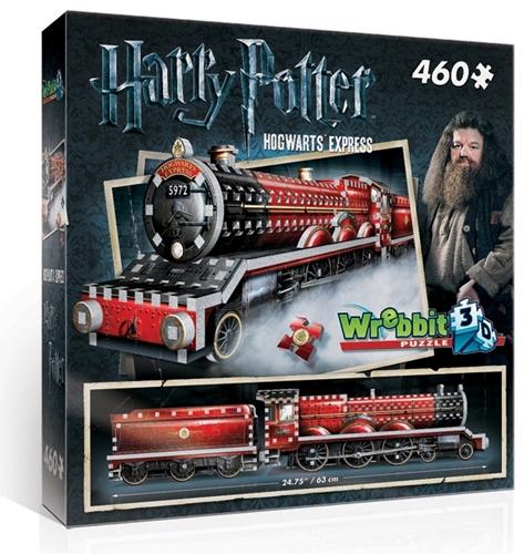 Wrebbit 3D Puzzel - Harry Potter Hogwarts Express (460 stukjes)