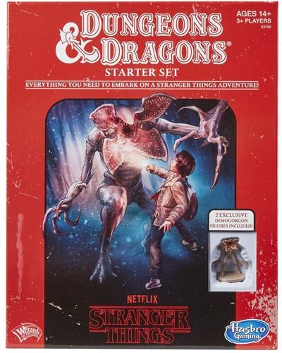 Dungeons & Dragons - Stranger Things Starter Set (licht beschadigd)