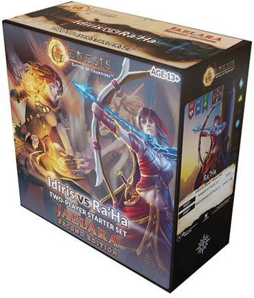 Genesis TCG: Battle of Champions - Jaelara Second Edition 2 Player Vs. Deck