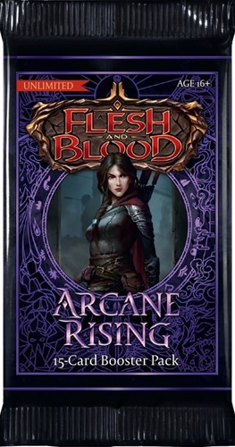 Flesh & Blood TCG - Arcane Rising Unlimited Boosterpack