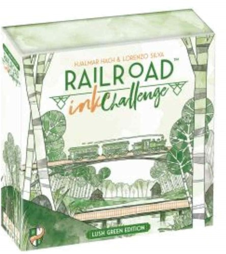 Railroad Ink - Lush Green Edition