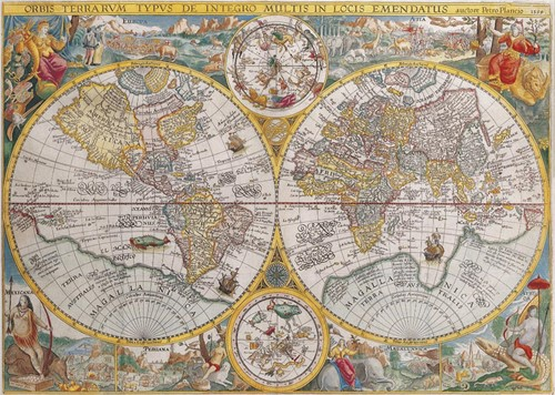 Historische Kaart Puzzel