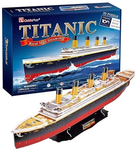 3D Puzzel Titanic (113 stukjes)