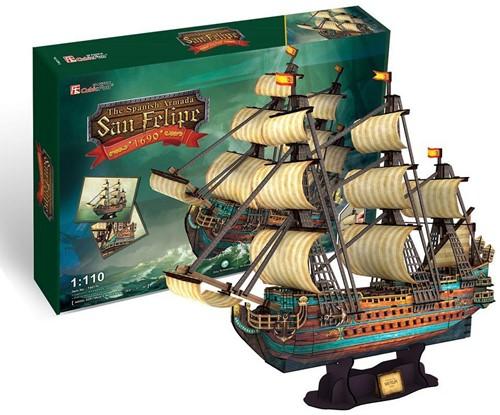 3D Puzzel San Felipe (248 stukjes)