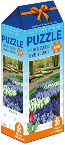 Hollands Mooiste! - Bloemen in Keukenhof Puzzel (500 stukjes)