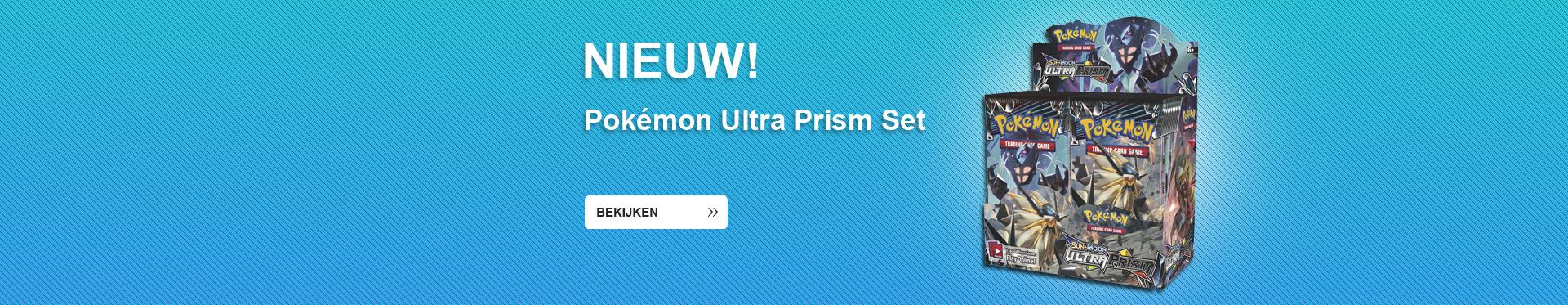 Pokemon Sun & Moon Ultra Prism