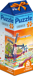1001 Kleuren - Kinderdijk Puzzel (100 stukjes)