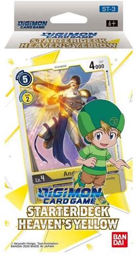 Digimon Card Game - Starter Deck Heaven's Yellow