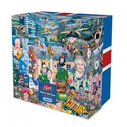 I Love Great Britain Puzzel - Gift Box (500 stukjes)
