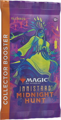 Magic The Gathering - Innistrad Midnight Hunt Collector Boosterpack