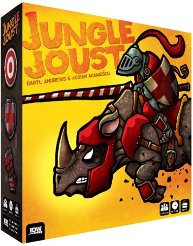 Jungle Joust - Bordspel