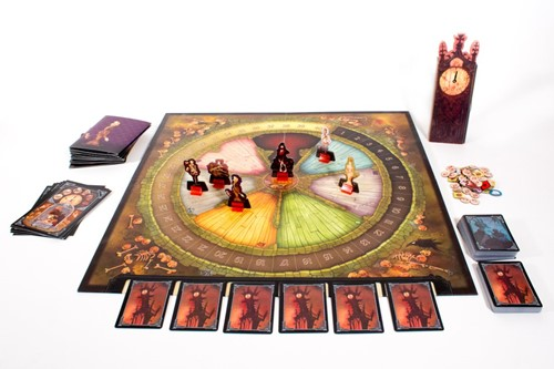Masque of the Red Death - Boardgame-2