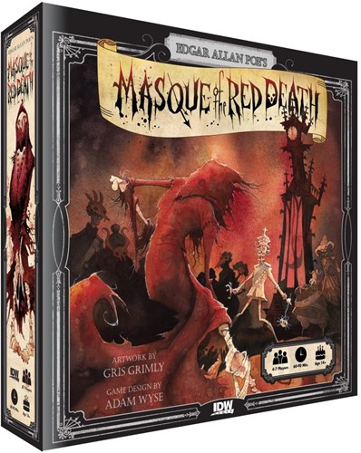 Masque of the Red Death - Boardgame