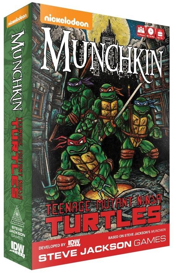 Munchkin Teenage Mutant Ninja Turtles Kopen Bij Spellenrijknl