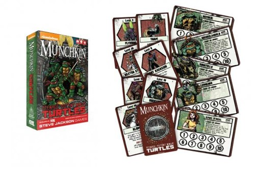Munchkin Teenage Mutant Ninja Turtles-2