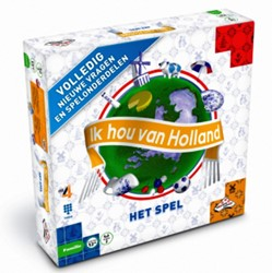 Ik Hou van Holland Bordspel (Nieuwe versie)