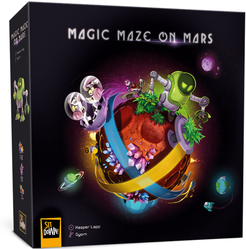 Magic Maze - On Mars