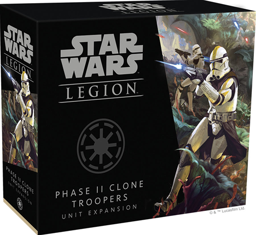 Star Wars Legion - Phase II Clone Troopers
