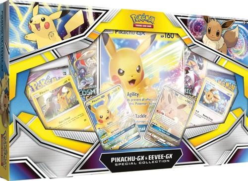 Pokemon - Pikachu GX & Eevee-GX