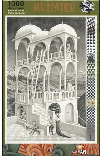 Belverdere - M.C. Escher Puzzel (1000 stukjes)
