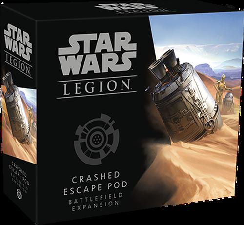 Star Wars Legion - Crashed Escape Pod Battlefield