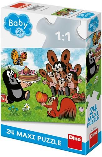 Molletje - Verjaardag Puzzel (24 Maxi)
