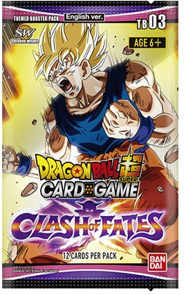 Dragon Ball Super - Clash of Fates Boosterpack