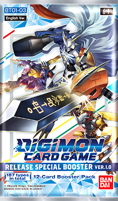 Digimon Card Game - Release Special 1.0 Boosterpack