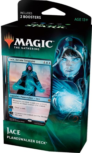 Magic The Gathering - War of the Spark Planeswalker Deck Jace