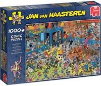 Jan van Haasteren - Rollerdisco Puzzel (1000 stukjes)