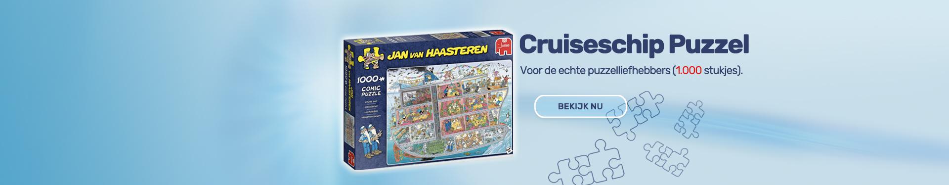 Jan van Haasteren - Cruiseschip Puzzel