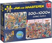 Jan van Haasteren - Feestje! Puzzel (2 in 1)