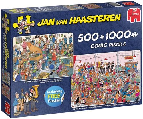 Jan van Haasteren - Feestje! Puzzel (2 in 1)-1