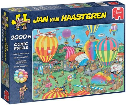Jan van Haasteren - Het Ballon Festival Puzzel (2000 stukjes)-1