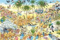 Jan van Haasteren - De Oase Puzzel (1500 stukjes)-2