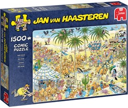 Jan van Haasteren - De Oase Puzzel (1500 stukjes)