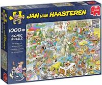 Jan van Haasteren - De Vakantiebeurs Puzzel (1000 stukjes)-1