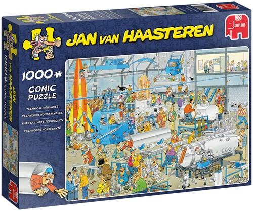 Jan van Haasteren - Technische Hoogstandjes Puzzel (1000 stukjes)