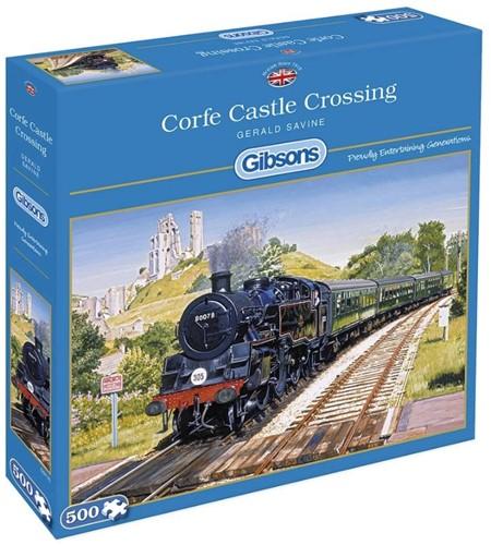 Corfe Castle Crossing Puzzel (500 stukjes)